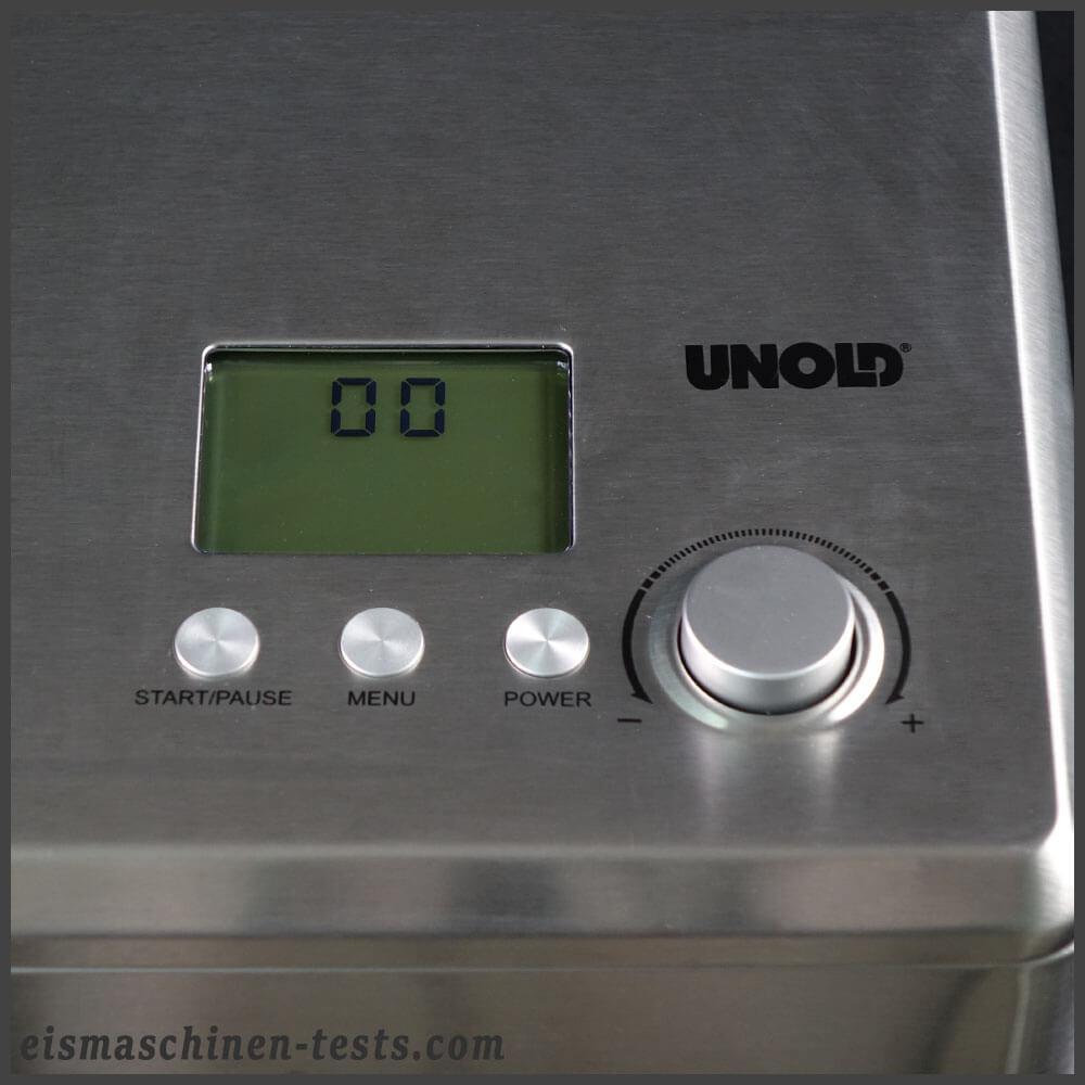 Produktbild - UNOLD Nobile - Display aus