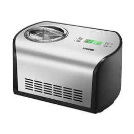 UNOLD Eismaschine One, mit Kompressor, 1,2 Liter Eiscreme, 48865 -