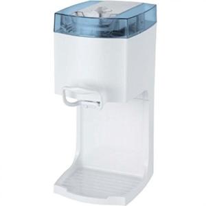 4in1 Gino Gelati IC-55W-B Softeismaschine Eismaschine Frozen Yogurt-Milchshake Maschine Flaschenkühler -