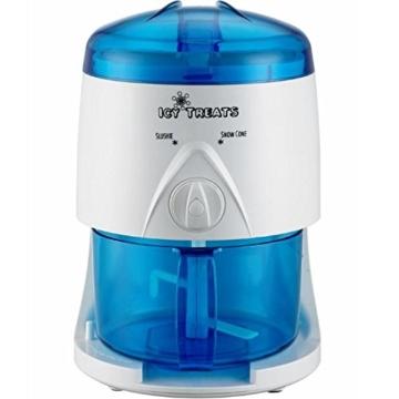 Gino Gelati IC-005 Elektrischer Smoothie Slush Crushed Maker Mixer Ice Shaver -