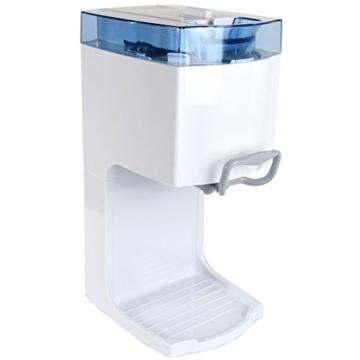 Gino Gelati IC-50W-A 4in1 Softeismaschine, Eismaschine, Frozen Yogurt-Milchshake Maschine, Flaschenkühler -
