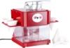 Rosenstein & Söhne Shaved-Ice-Maker mit 4 Eisbechern und Servierhalter -