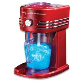 Simeo FF 145 Slush- und Crushed-Ice Maker / Retro-Design / 29 cm hoch -