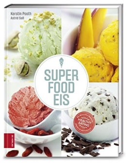 Eismaschinen Zubehör - Rezeptebuch - Superfood Eis