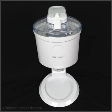 Produktbild vorne TV Eismaxx Softeismaschine