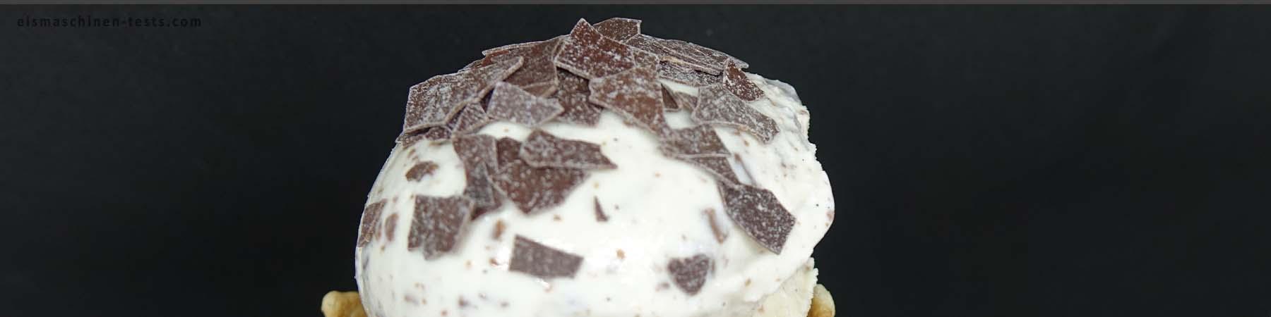 Stracciatella Eis selber machen - Eismaschinen Tests com - Slider