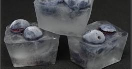 Blaubeeren Eiswürfel selber machen - Eismaschinen Tests com - Bild