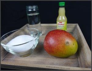 Mangosorbet Zutaten selber machen - Eismaschinen Tests com - Zutaten
