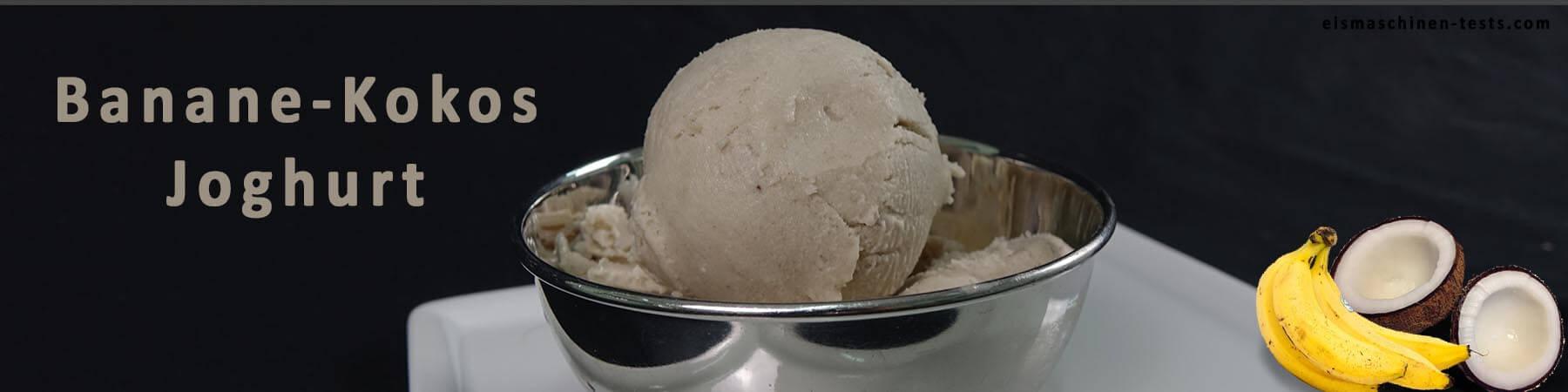 Bananen-Kokos-Joghurt selber machen - eismaschinen-tests.com - Slider