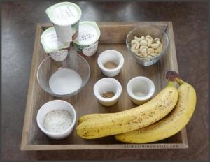 Bananen-Kokos-Joghurt selber machen - eismaschinen-tests.com - Zutaten