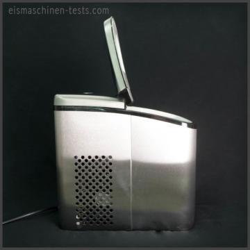 Produktbild - Gino Gelati Eiswürfelmaschine seite offen